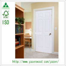White Paint MDF Europe Style Wooden Door